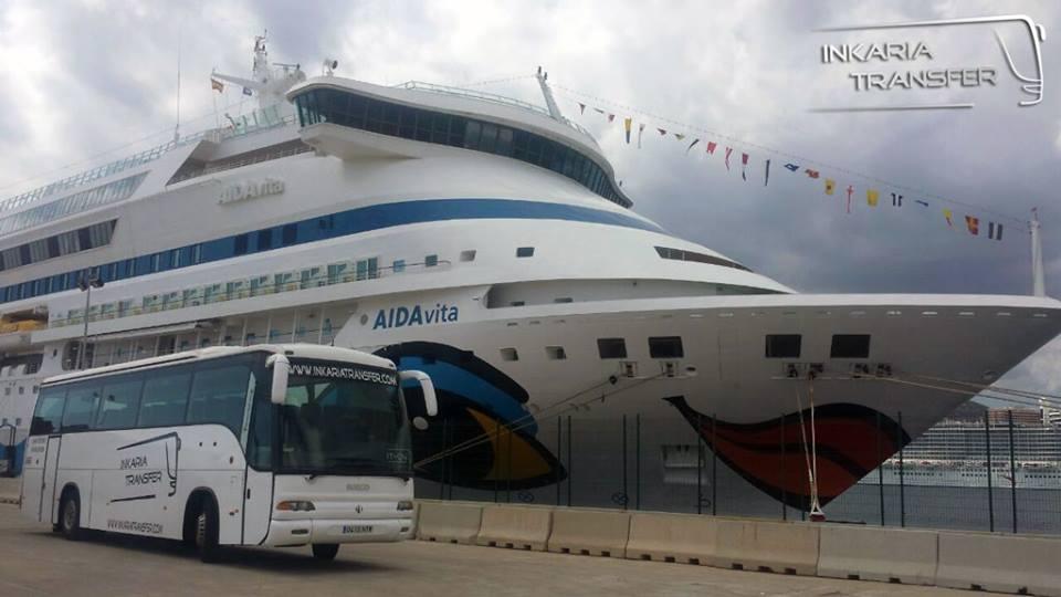 Recogida en el puerto